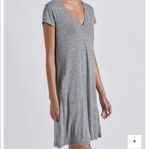 V Neck Trapeze Dress